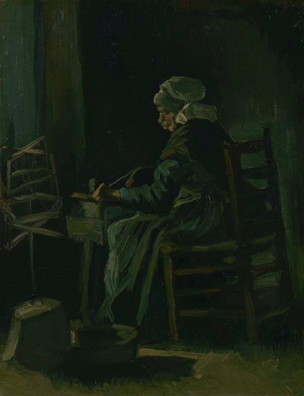 Yesterday the exhibition 'The Story of Brabant' opens at Het Noordbrabants Museum, featuring works from our collection like 'Woman winding yarn'.  Find out more: http://www.hetnoordbrabantsmuseum.nl/english/exhibitions/permanent/story-of-brabant/  Image: Vincent van Gogh (1853-1890), Woman winding yarn, 1885. Van Gogh Museum, Amsterdam.