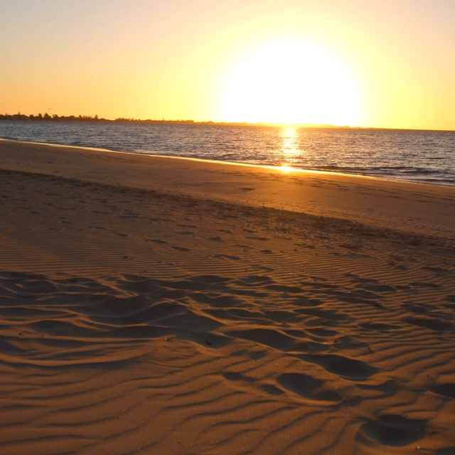 Rockingham Beach sunset, Western Australia