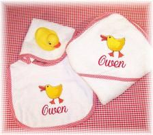 30 best corporate baby gift ideas images on pinterest gift personalized baby bath set and bib hand made to be treasured forever we make giving the perfect baby gift a breeze negle Images