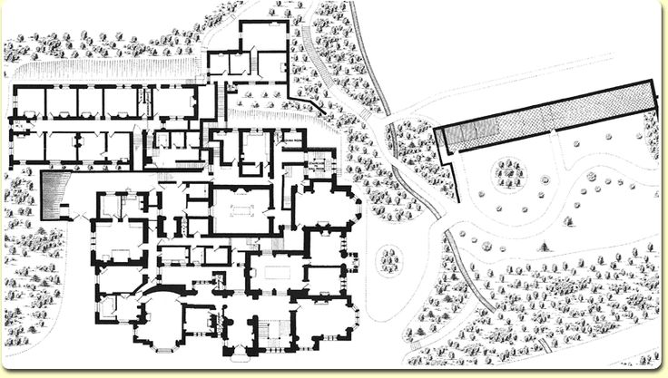 Kylemore Abbey Ground Plan Castle Floor Plan How To