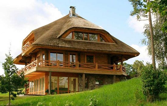 Eco House on the Hill  Located in the beautiful Sun City, Latvia (same as where the above home is situated).