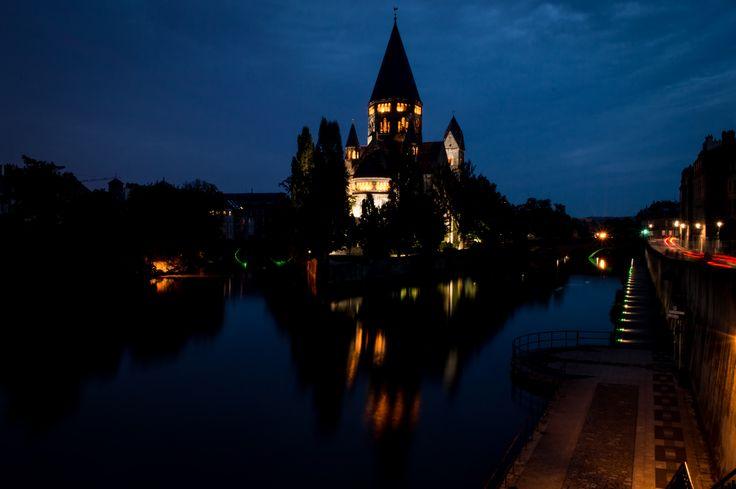 https://flic.kr/p/xbSihH   222/365   Metz-France night