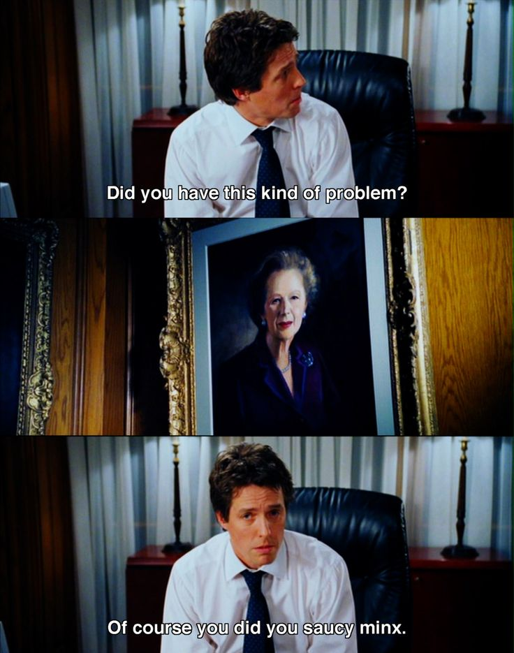 love Hugh Grant, Love Actually (2003)