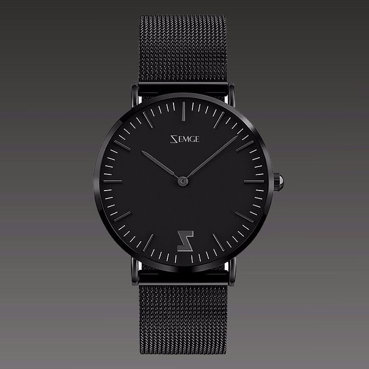 ZC0701 all black 40 mm and 36 mm by Zemge