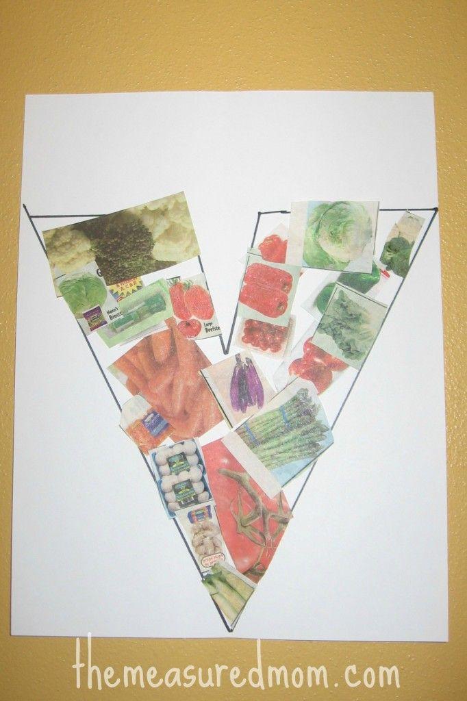 Letter V craft 6 the measured mom 682x1024 8 Crafts for Letter V - V is for Vegetable