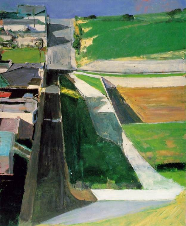 Richard Diebenkorn (1922-1993), Cityscape I, (Landscape No. 1), 1963, Oil on canvas, 60¼ × 50½ in, San Francisco Museum of Modern Art.