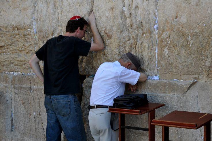 Le mur des lamentations - Jérusalem