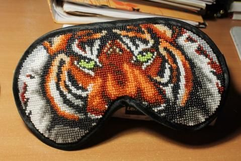 Tiger sleeping mask