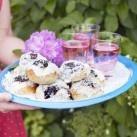Blåbärs- och vaniljbullar - Recept från Mitt kök - Mitt Kök | Recept | Mat | Bloggar | Vin | Öl