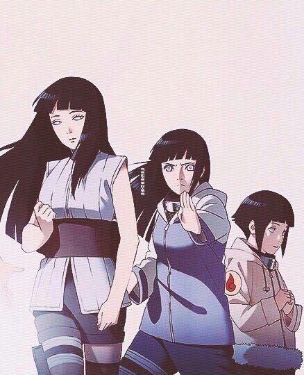 Hinata threw the years