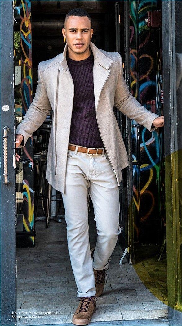 Trai Byers Inspires in Smart Styles for Man of Metropolis