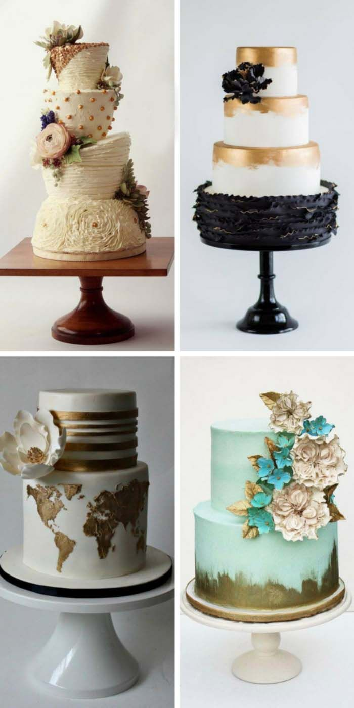 30 simple elegant chic wedding cakes wedding cakes. Black Bedroom Furniture Sets. Home Design Ideas