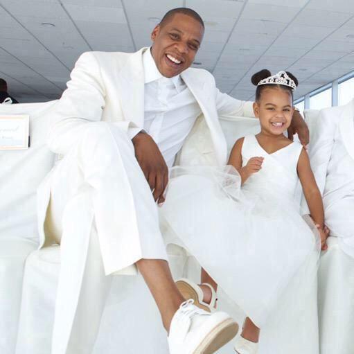 Blue Ivy & Jay On Tina & Richard Lawson's Wedding Day 24.04.2015