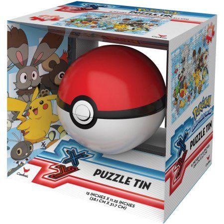 Pokemon 100-Piece Puzzle Tin, Multicolor