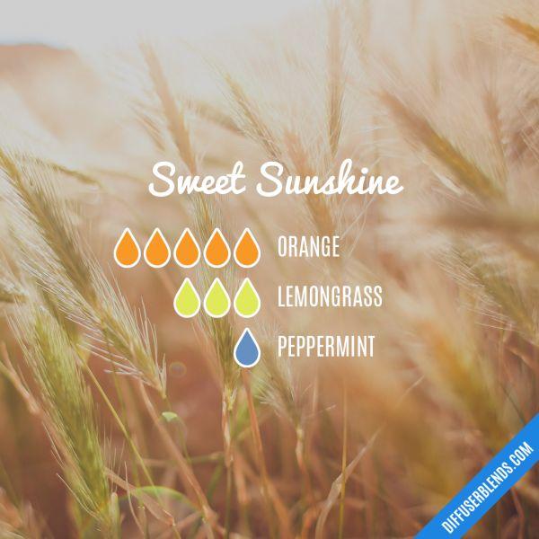Sweet Sunshine - Essential Oil Diffuser Blend