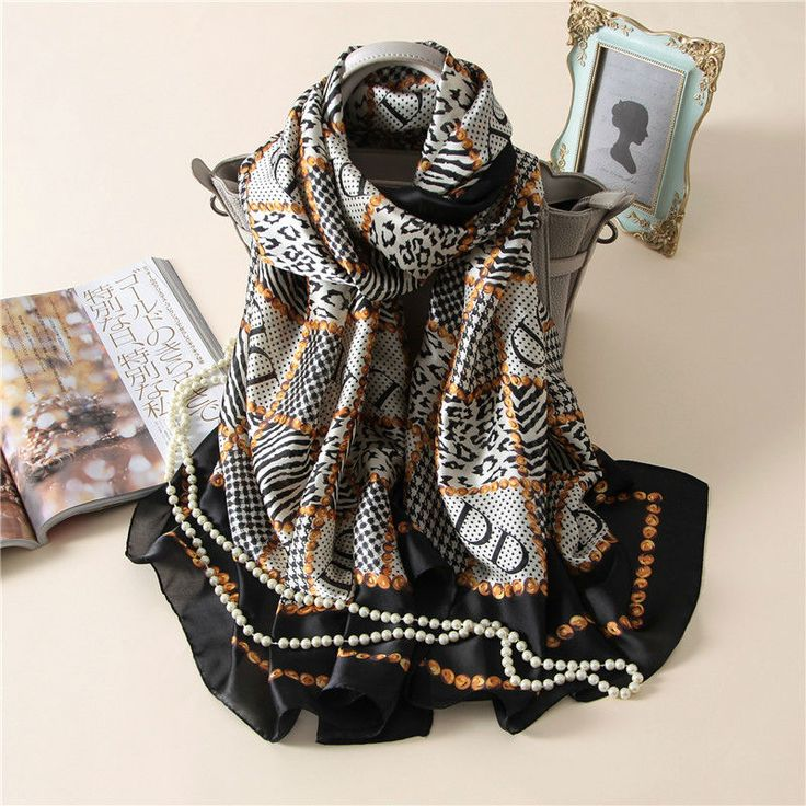 Find More Scarves Information about 2017 Soft Women Silk Scarf Muslim Hijab Shemagh Scarves Fashion Black Color Silk Arab Keffiyeh Shemagh,High Quality keffiyeh shemagh,China shemagh fashion Suppliers, Cheap shemagh scarf from Funky Scarf Store on Aliexpress.com