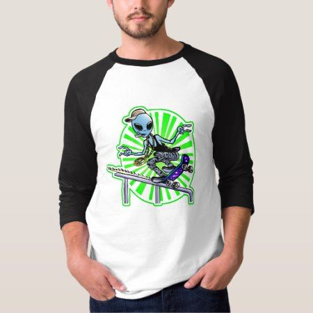 Alien Grind T-Shirt - tap to personalize and get yours