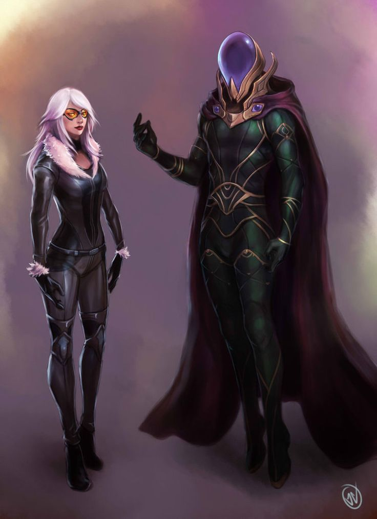 Black Cat & Mysterio - jaeon009.deviantart.com