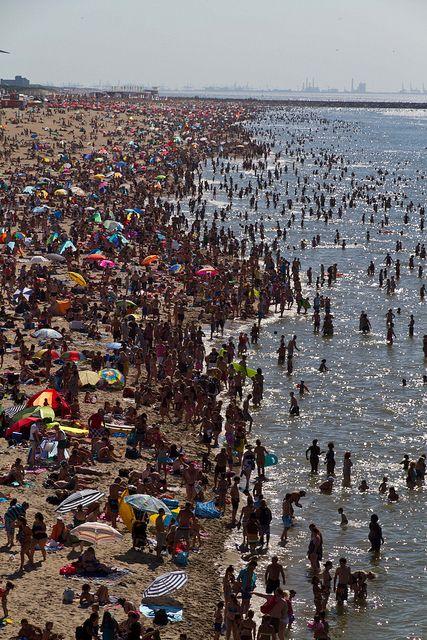 Scheveningen, The Hague Beach, Netherlands