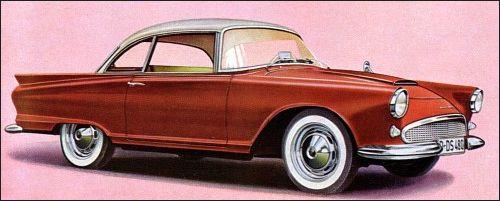1958 Auto Union 1000 SP Coupe