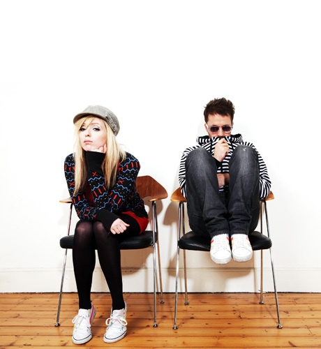 Katie White and Jules de Martino (The Ting Tings)