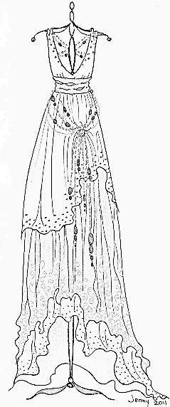 coloring pages of fancy dresses | 91 best Clothing Dress Coloring For Adults Art Pages ...