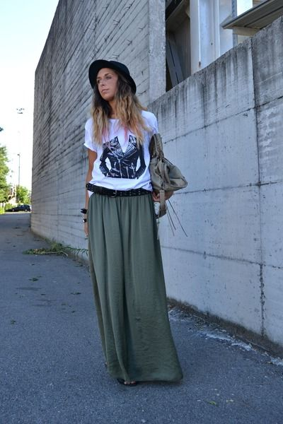 17 Best images about How to wear...my maxi skirts on Pinterest ...
