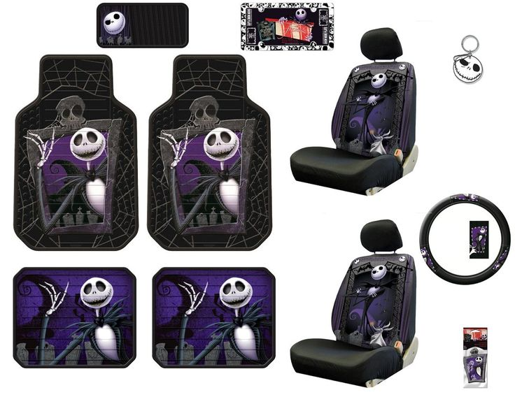Nightmare Before Christmas Auto Accessories