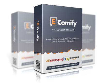 #EComify is a new wordpress plugin, developd by David Kirby, that will help you turn your wordpress blog into affiliate store from Amazon, Ebay & AliBaba!
