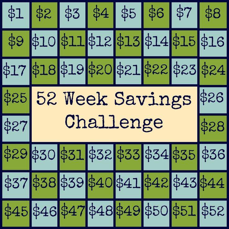 52 week savings challenge pdf
