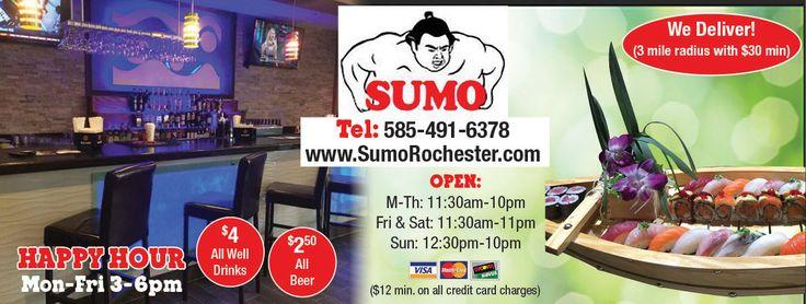 Sumo restaurant coupons