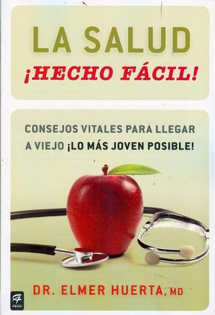 """""""La salud ¡Hecho fácil!"""" del Dr. Elmer Huerta vendiío 650 ejemplares en la FIL Lima 2014"""