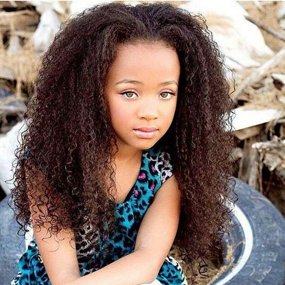 cortes de cabelo infantil afro