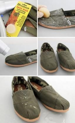 How to waterproof your shoes and other amazing lifehacks that will leave your mind well blown