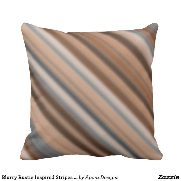 Blurry Rustic Inspired Stripes Pattern