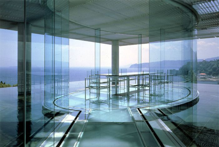 WATER/GLASS House, Kengo Kuma