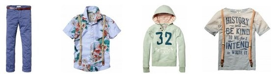 #Childrens Scotch Shrunk clothing for spring