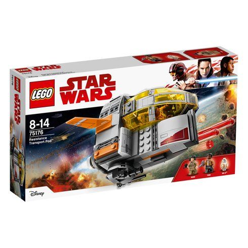 Superb LEGO 75176 Star Wars Resistance Transport Pod Now At Smyths Toys UK! Buy Online Or Collect At Your Local Smyths Store! We Stock A Great Range Of LEGO Star Wars At Great Prices.