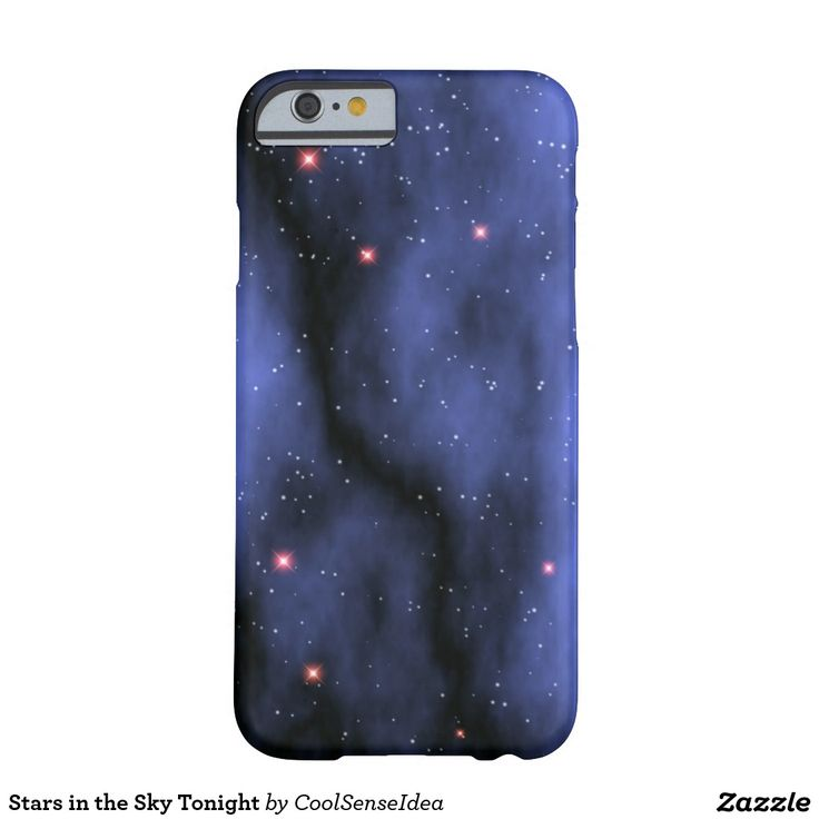 Stars in the Sky Tonight Barely There iPhone 6 Case