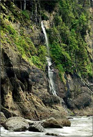 Olympic Peninsula Waterfall Trail. Hike in the spring for the best falls.