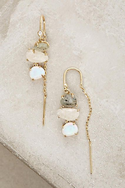 Very much liked the unusual findings on these Anthropologie Warm Tide Earrings