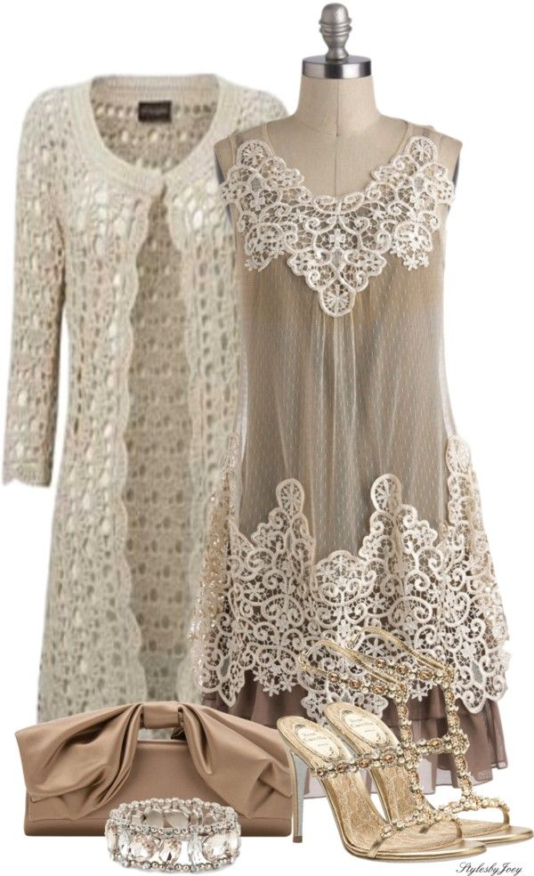 """Style & Grace, All Dressed in Lace"" by stylesbyjoey ❤ liked on Polyvore"