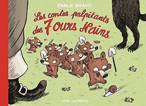 Les Contes palpitants des 7 ours nains de Emile Bravo https://www.amazon.fr/dp/B00OT3EOME/ref=cm_sw_r_pi_dp_x_jwX8ybC4SRT89