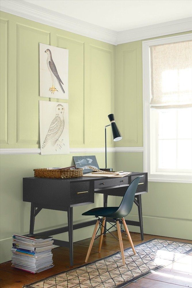 wall color for office. upper wall color fernwood green lower urban nature for office d