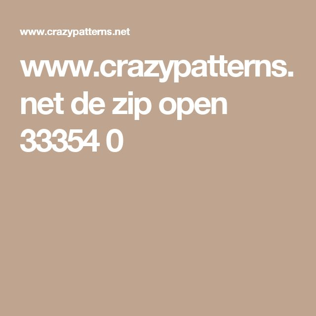 www.crazypatterns.net de zip open 33354 0