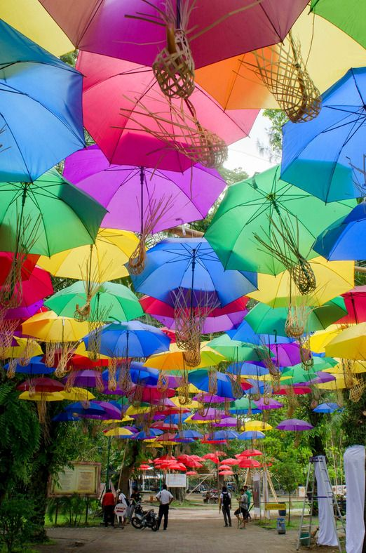 Surakarta to hold Indonesia Umbrella Festival until Nov. 30