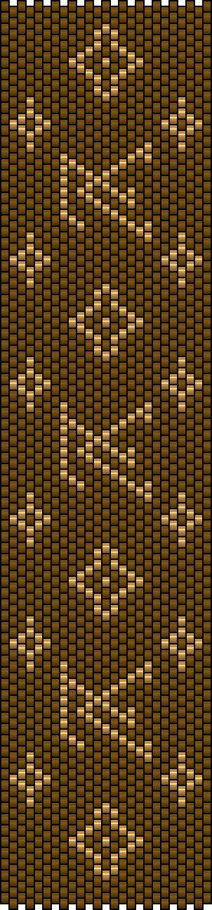 75marghe75 Bead By Bead: Schema peyote fascia Louis Vuitton e Burberry's