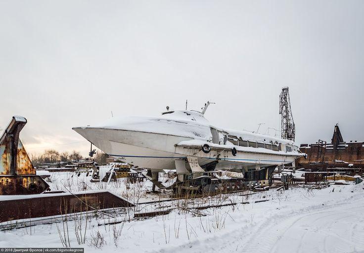Заброшенная школа речного флота в Перми.  Фото: Дмитрий Фролов