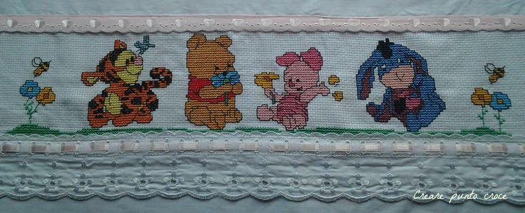 Lenzuolino Winnie The Pooh & Company