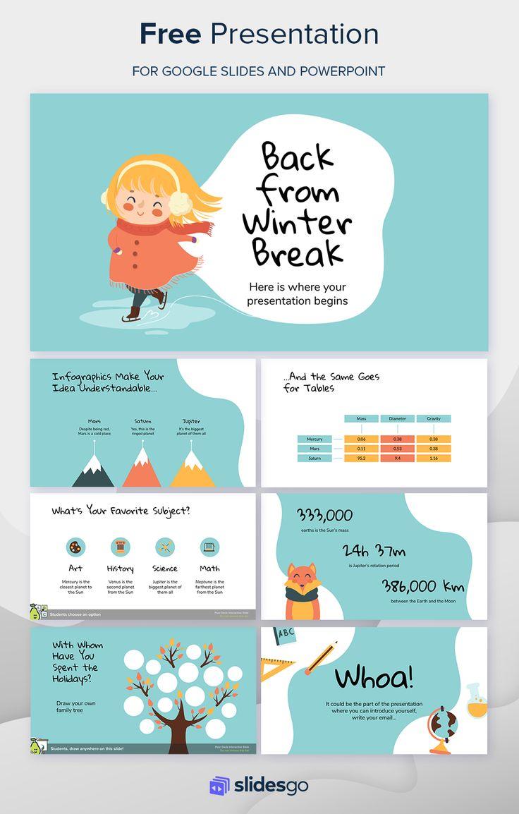 Back from Winter Break Presentation Free Google Slides